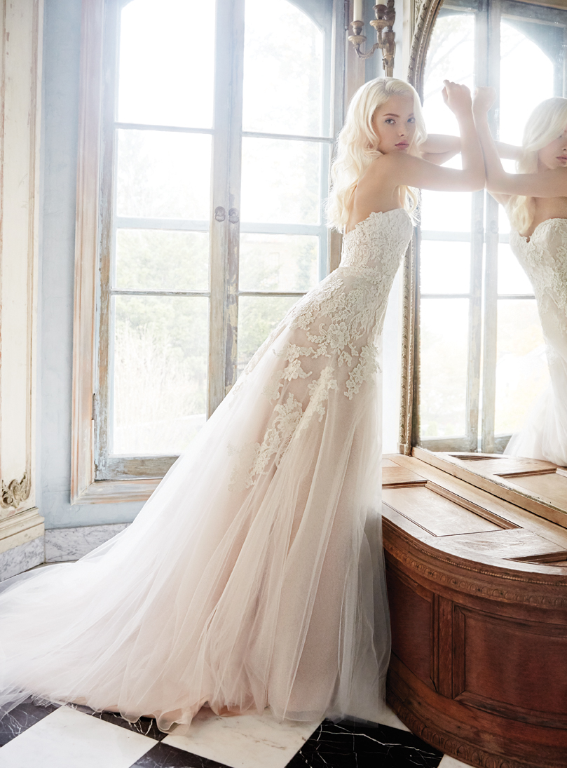 Bridal Gowns and Bridesmaids Dresses by Alvina Valenta