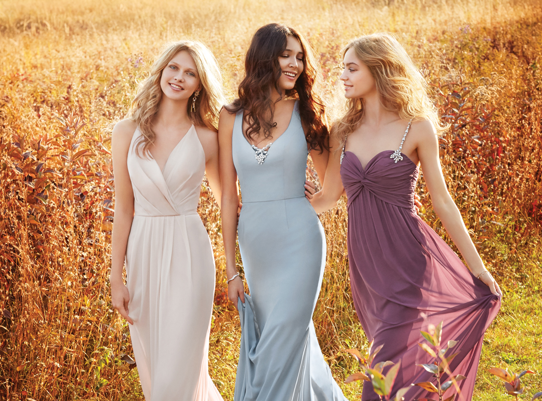 Bridesmaids, Junior Bridesmaids, Maternity Bridesmaids, and Flower Girl Dresses by Jim Hjelm