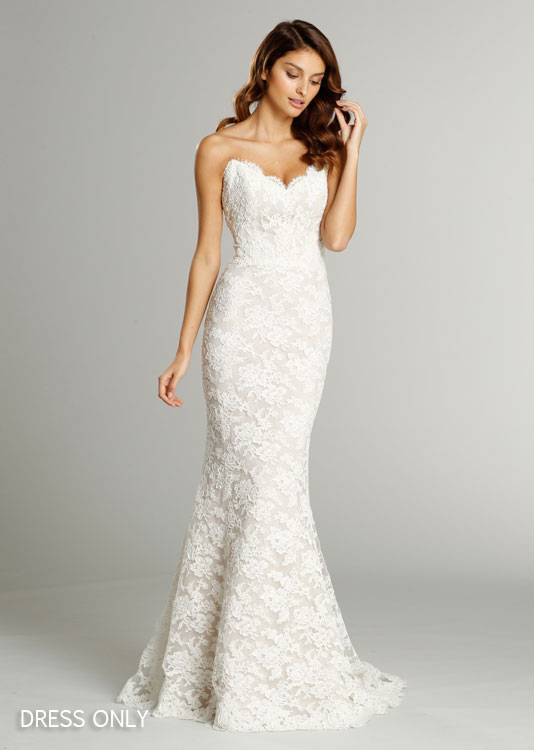 Trumpet Style Wedding Dresses Lace : Bridal gowns wedding dresses by alvina valenta style av
