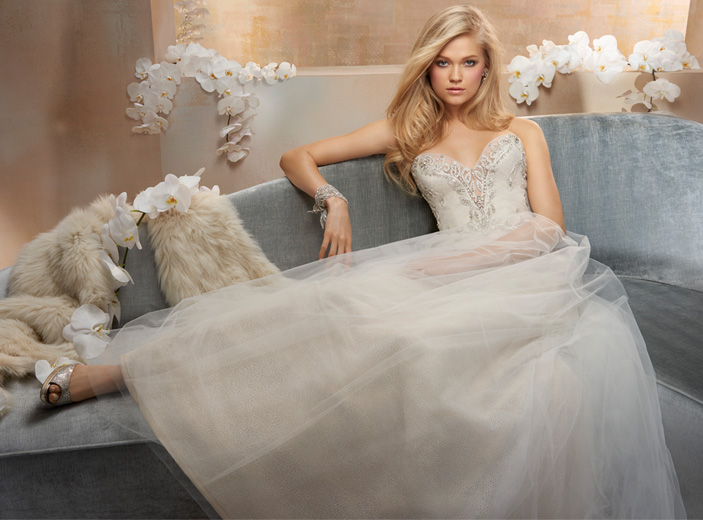 Alvina Valenta Bridal Dresses Style 9510 by JLM Couture, Inc.