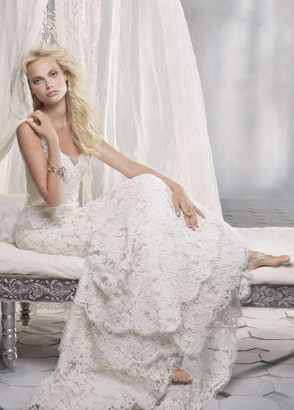 Alvina Valenta Bridal Gowns, Wedding Dresses Style AV9161 by JLM Couture, Inc.