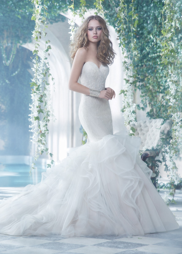 Alvina Valenta Bridal Gowns, Wedding Dresses Style AV9414 by JLM Couture, Inc.