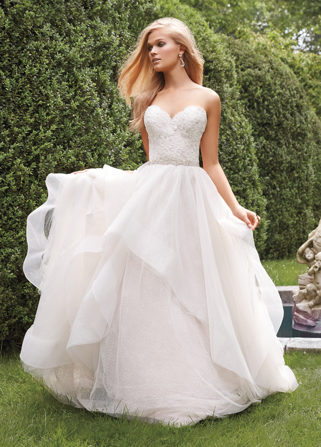 Bridal gowns wedding dresses by alvina valenta style av9551 for Alvina valenta wedding dress