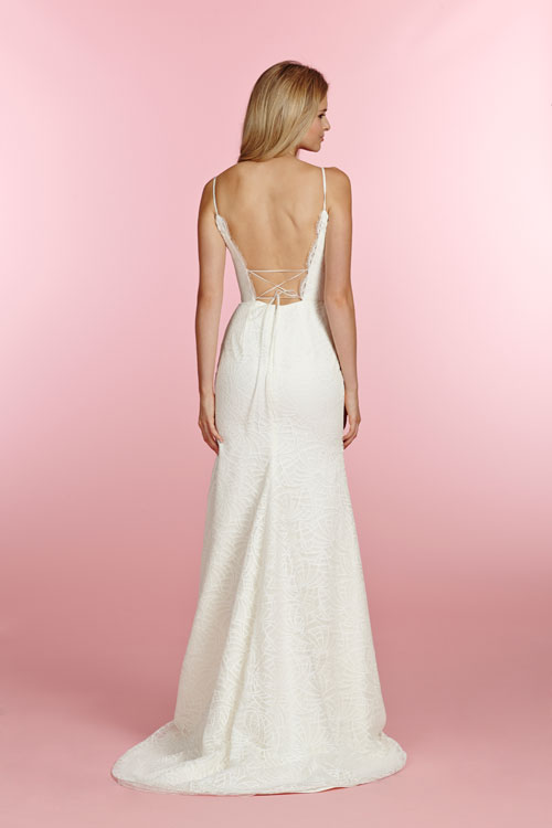 Blush Low Back Wedding Dress : Bridal gowns wedding dresses by blush hayley paige