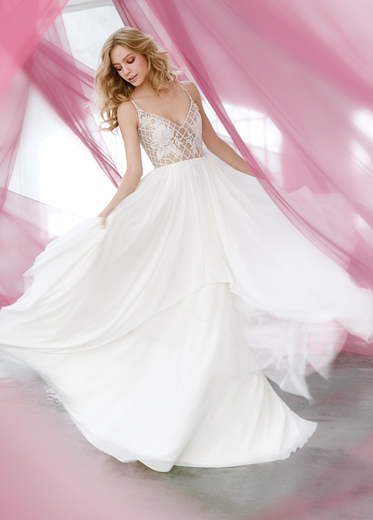 Blush by Hayley Paige Bridal Dresses Style 1607 by JLM Couture, Inc.