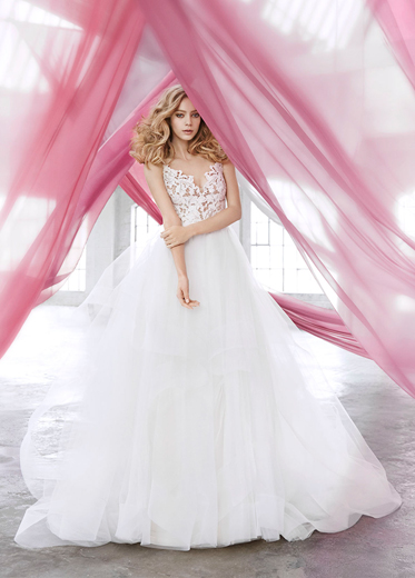 Blush by Hayley Paige Bridal Dresses Style 1600 by JLM Couture, Inc.