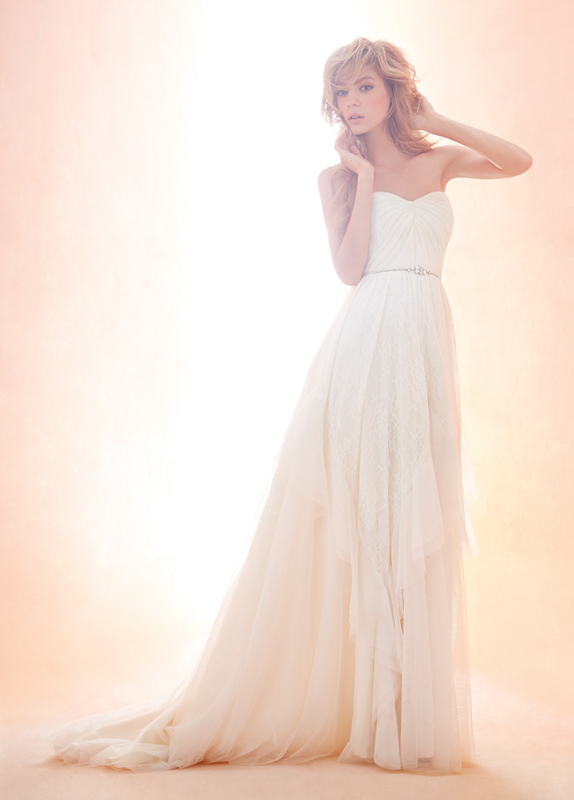 Blush by Hayley Paige Bridal Gowns, Wedding Dresses Style 1407 by JLM Couture, Inc.