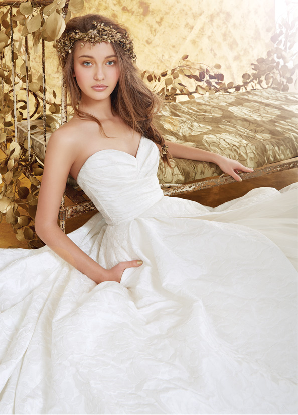 Blush by Hayley Paige Bridal Gowns, Wedding Dresses Style 1401 by JLM Couture, Inc.