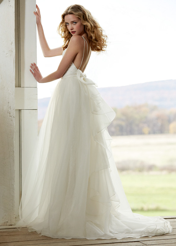 Blush Bridal Gowns, Wedding Dresses Style 1201 by JLM Couture, Inc.