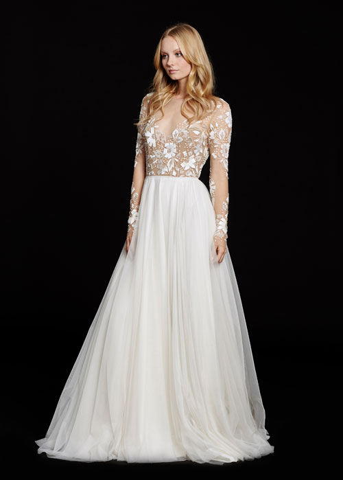 Bridal Gowns Wedding Dresses By Hayley Paige Style Hp6553