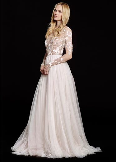 Bridal gowns wedding dresses by hayley paige style hp6553 for How to get a free wedding dress