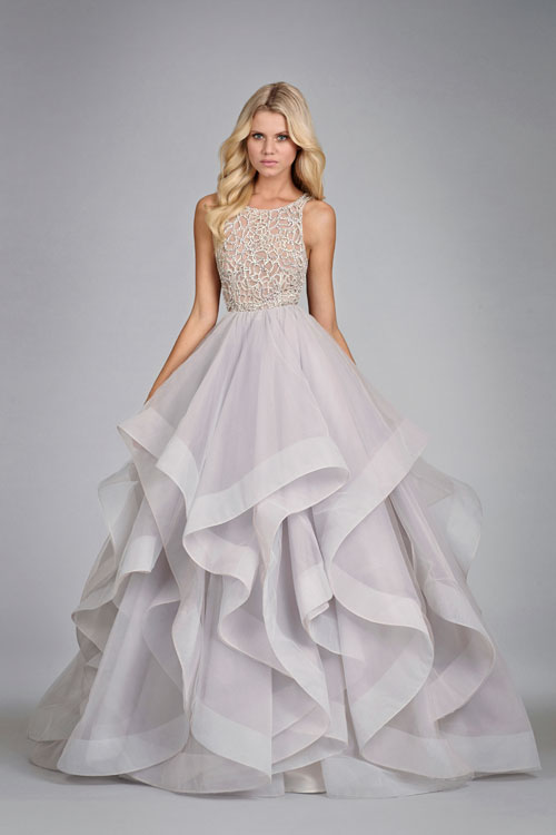 Bridal Gowns Wedding Dresses By Hayley Paige Style Hp6413