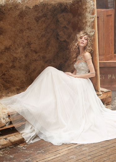 Hayley Paige Bridal Dresses Style 6462 by JLM Couture, Inc.