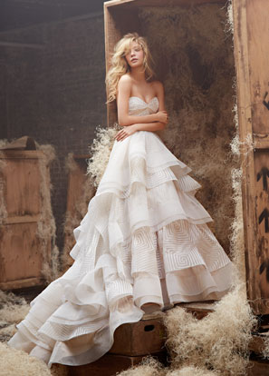 Hayley Paige Bridal Dresses Style 6400 by JLM Couture, Inc.