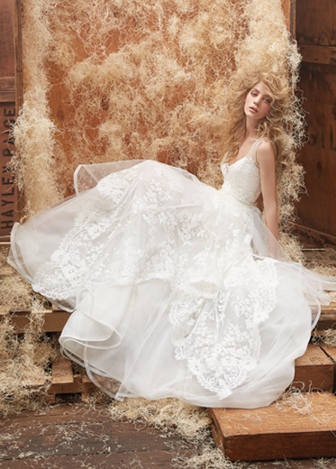 Hayley Paige Bridal Dresses Style 6458 by JLM Couture, Inc.
