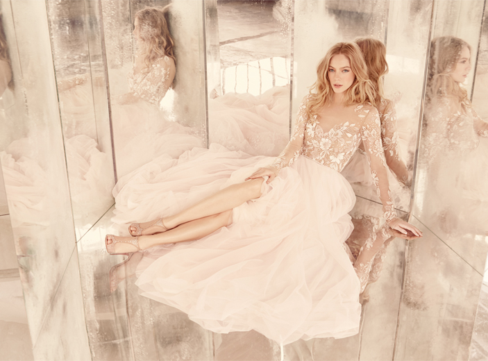 Hayley Paige Bridal Dresses Style 6553 by JLM Couture, Inc.