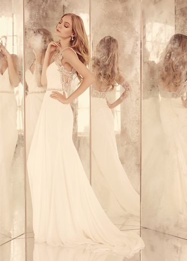 Hayley Paige Bridal Dresses Style 6557 by JLM Couture, Inc.