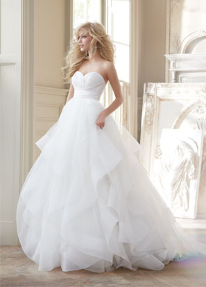 Hayley Paige Bridal Dresses Style 6358 by JLM Couture, Inc.
