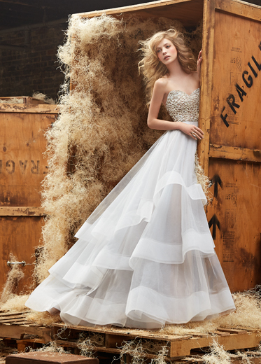 Hayley Paige Bridal Dresses Style 6453 by JLM Couture, Inc.