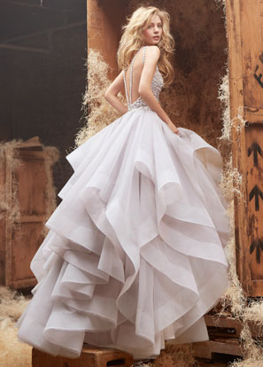 Hayley Paige Bridal Dresses Style 6413 by JLM Couture, Inc.
