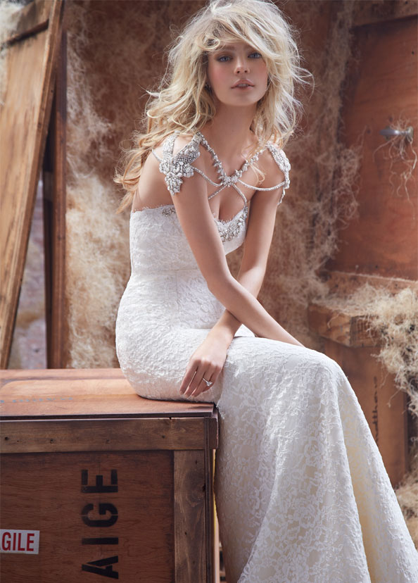 Hayley Paige Bridal Gowns, Wedding Dresses Style HP6410 by JLM Couture, Inc.