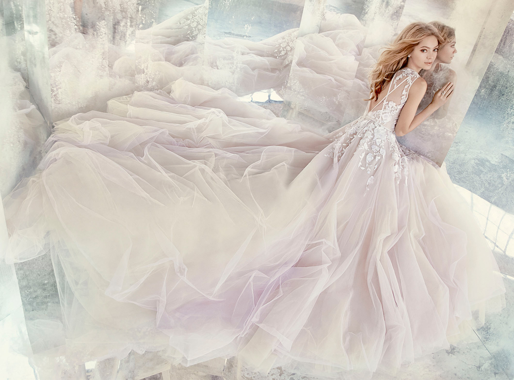 Hayley Paige Bridal Gowns, Wedding Dresses Style HP6604 by JLM Couture, Inc.