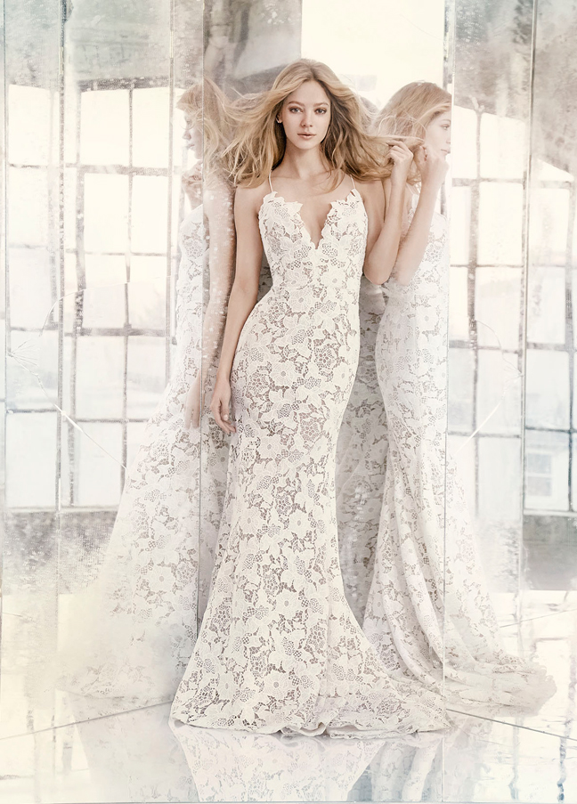 Hayley Paige Bridal Gowns, Wedding Dresses Style HP6606 by JLM Couture, Inc.