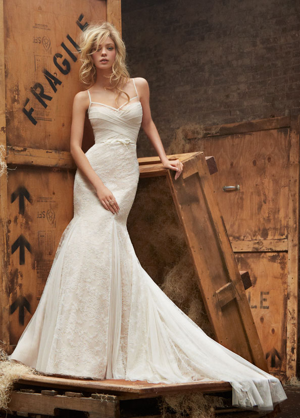Hayley Paige Bridal Gowns, Wedding Dresses Style HP6404 by JLM Couture, Inc.