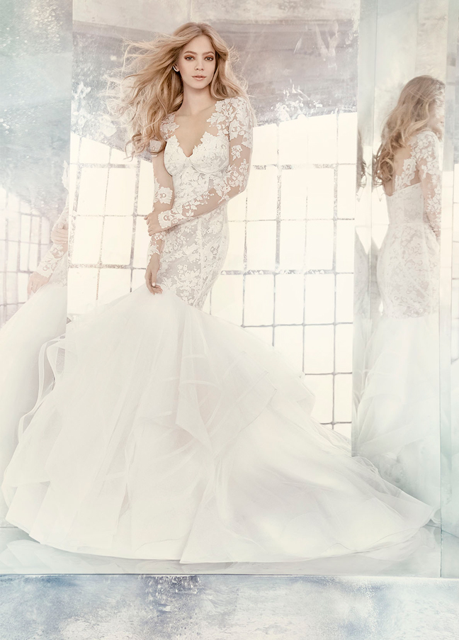 Hayley Paige Bridal Gowns, Wedding Dresses Style HP6603 by JLM Couture, Inc.