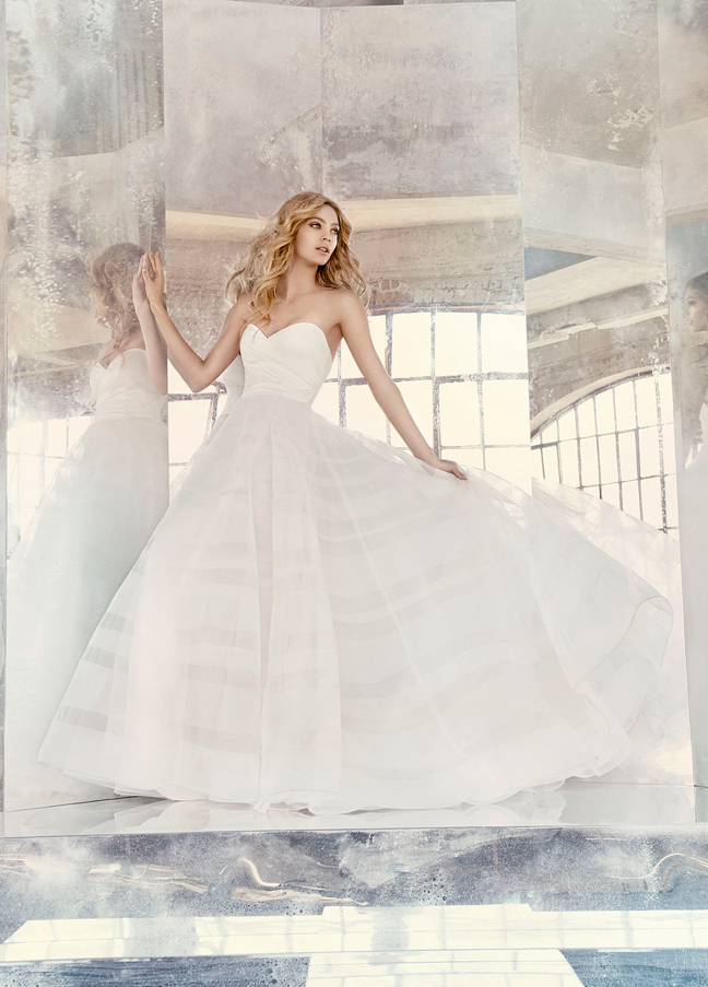 Hayley Paige Bridal Gowns, Wedding Dresses Style HP6614 by JLM Couture, Inc.