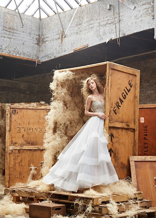 Hayley Paige Bridal Gowns, Wedding Dresses Style HP6453 by JLM Couture, Inc.