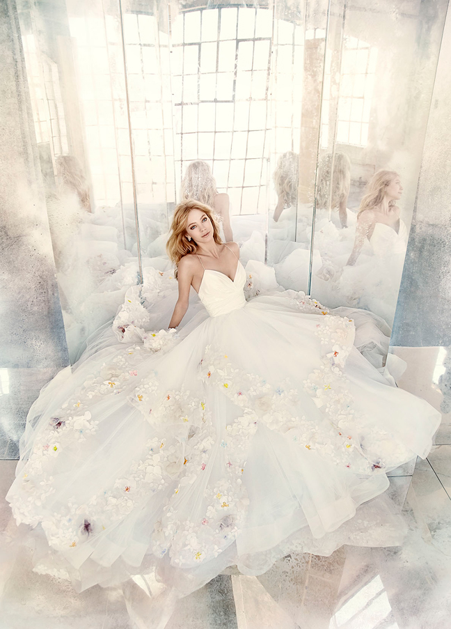Hayley Paige Bridal Gowns, Wedding Dresses Style HP6601 by JLM Couture, Inc.