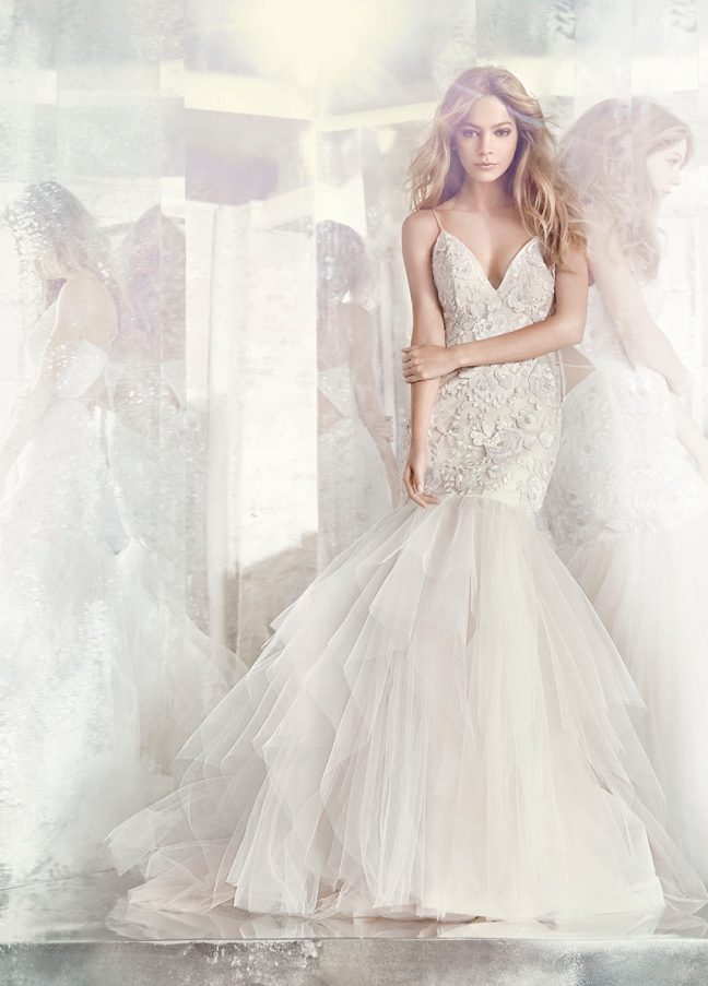 Hayley Paige Bridal Gowns, Wedding Dresses Style HP6610 by JLM Couture, Inc.