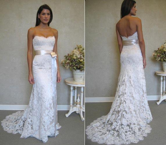 Springtime dresses for wedding