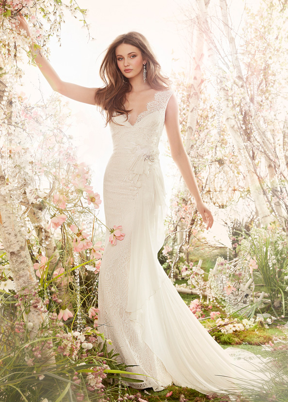 Jim Hjelm Bridal Gowns, Wedding Dresses Style jh8409 by JLM Couture, Inc.