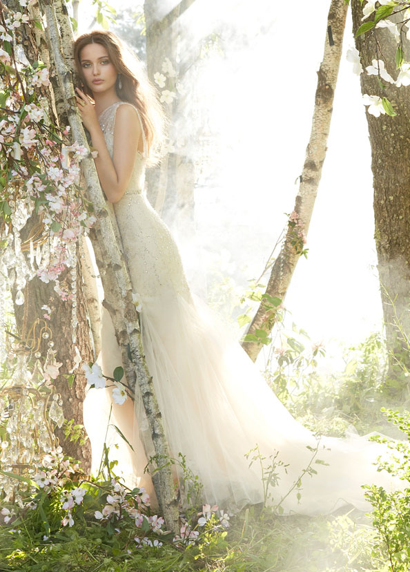 Jim Hjelm Bridal Gowns, Wedding Dresses Style jh8352 by JLM Couture, Inc.