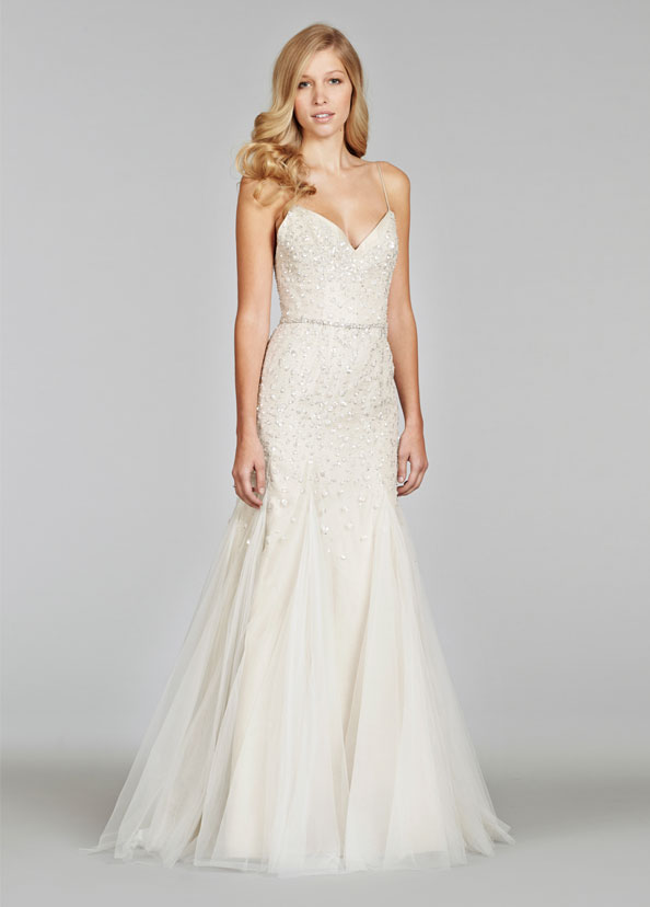 Jim Hjelm Bridal Gowns, Wedding Dresses Style jh8400 by JLM Couture, Inc.