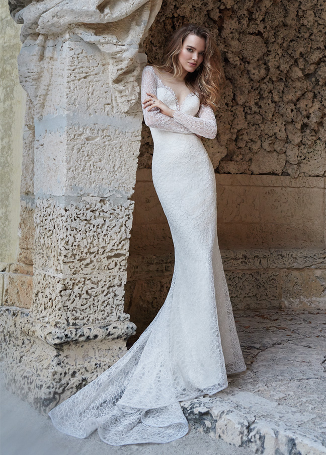 Jim Hjelm Bridal Gowns, Wedding Dresses Style jh8507 by JLM Couture, Inc.