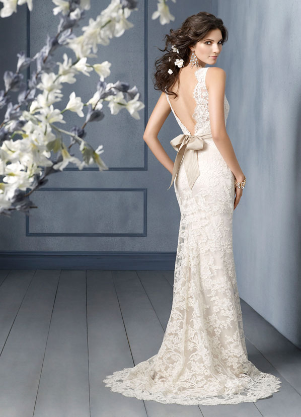 Jim Hjelm Bridal Gowns, Wedding Dresses Style jh8904 by JLM Couture, Inc.