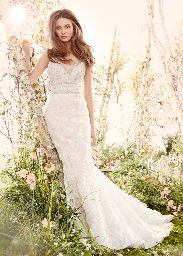 Jim Hjelm Bridal Gowns, Wedding Dresses Style jh8414 by JLM Couture, Inc.