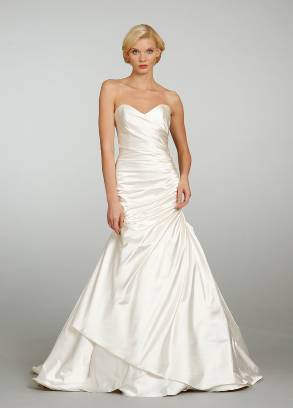 wedding dresses silk sweetheart