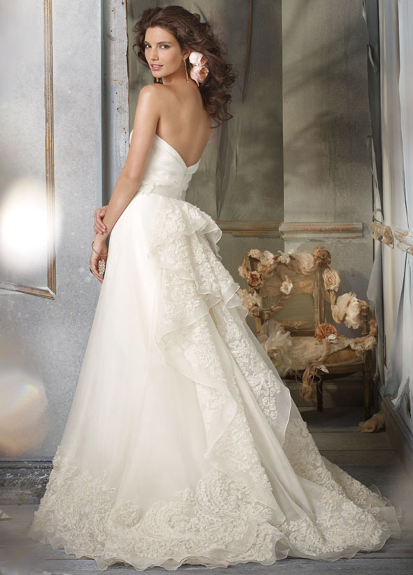Wedding dress styles handese fermanda for Wedding dress pick up style
