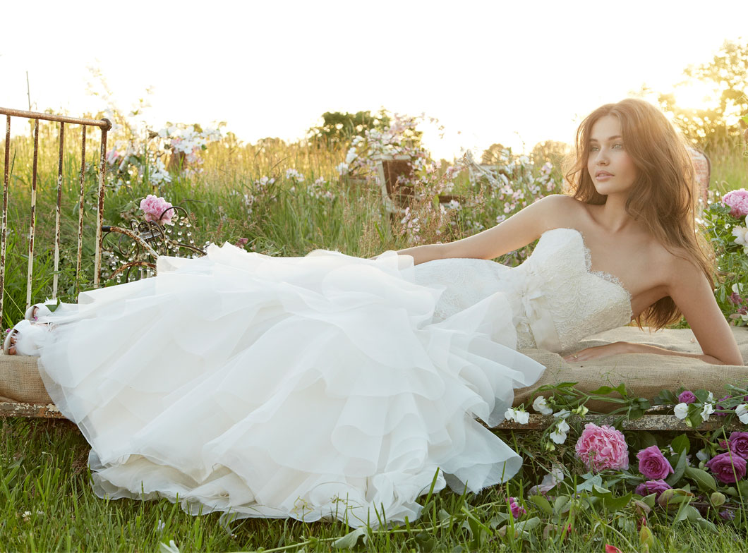 Jim Hjelm Bridal Gowns, Wedding Dresses Style jh8356 by JLM Couture, Inc.