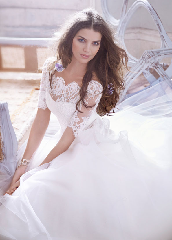 Jim Hjelm Bridal Gowns, Wedding Dresses Style jh8313 by JLM Couture, Inc.