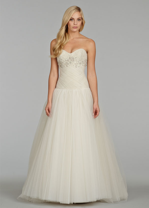 Jim Hjelm Bridal Gowns, Wedding Dresses Style jh8401 by JLM Couture, Inc.