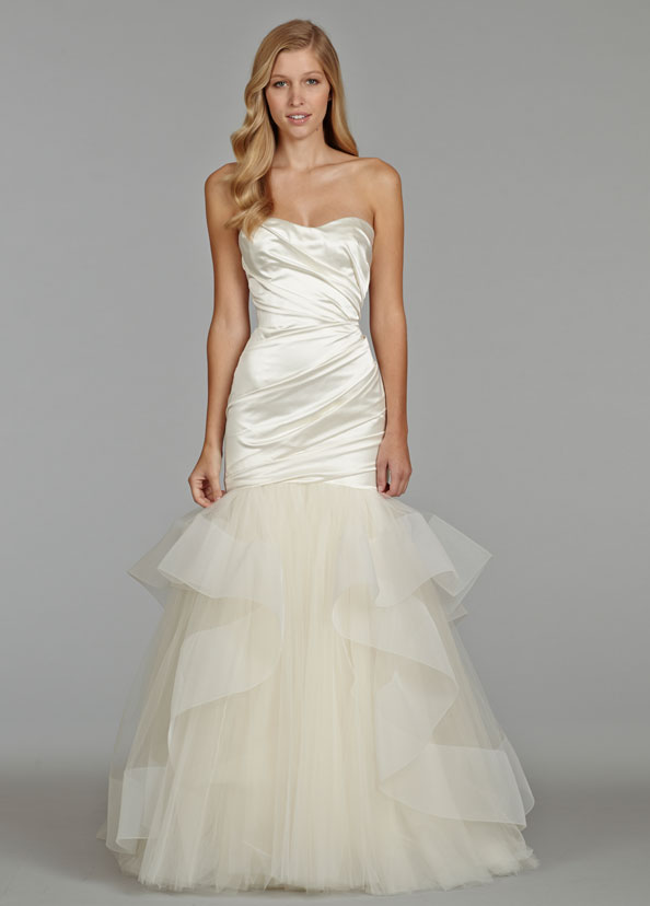 Jim Hjelm Bridal Gowns, Wedding Dresses Style jh8403 by JLM Couture, Inc.