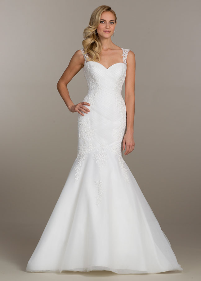 Low Illusion Back Wedding Dress Style 6125 Price : Lovelle by lazaro bridal gowns wedding dresses style ll jlm