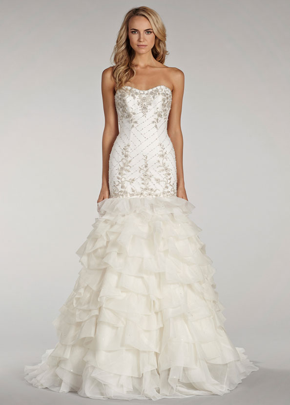 Lovelle By Lazaro Bridal Gowns, Wedding Dresses Style LL4411 by JLM Couture, Inc.