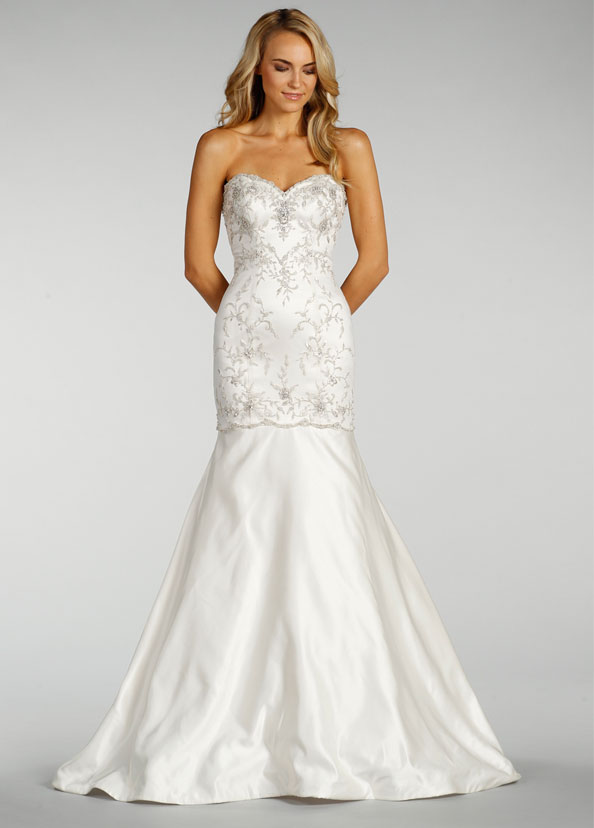 Lovelle by lazaro bridal gowns wedding dresses style ll4409 by jlm