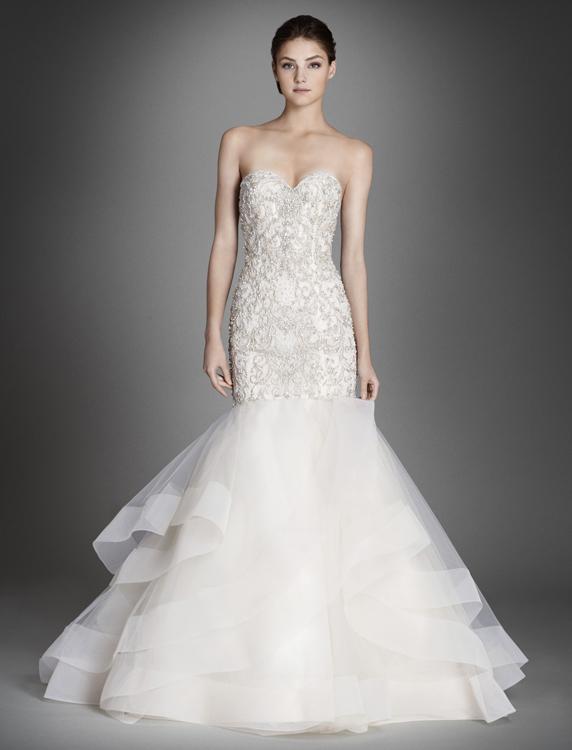 Alternate view for Lazaro wedding dress price range